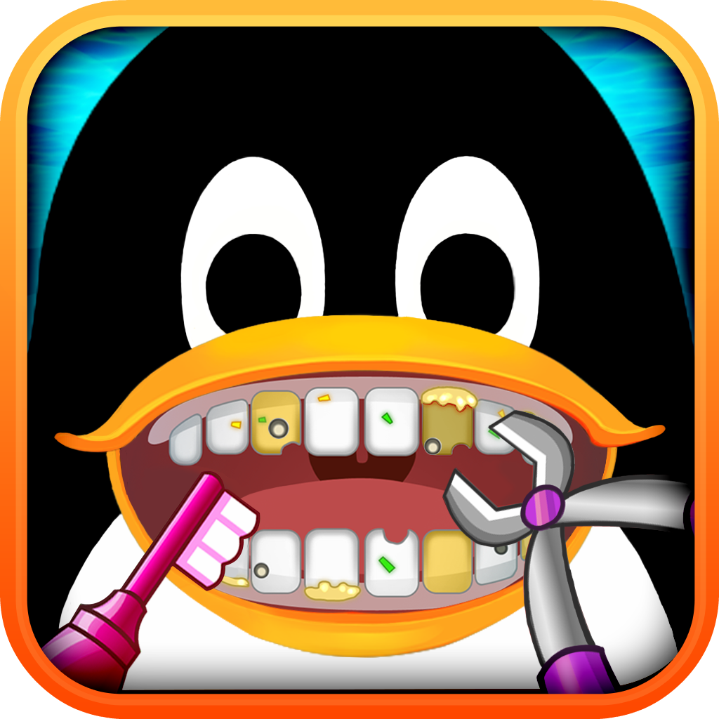Amateur Dentist Free: Crazy Dental Club for Girls, Guys & Penguin